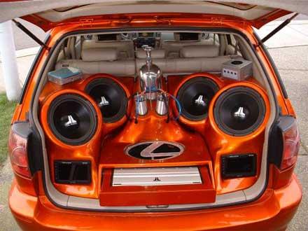 In Car Entertainment Batteries
