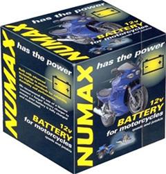 Numax Motorcycle Batteries