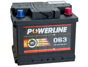 Powerline Car Battery