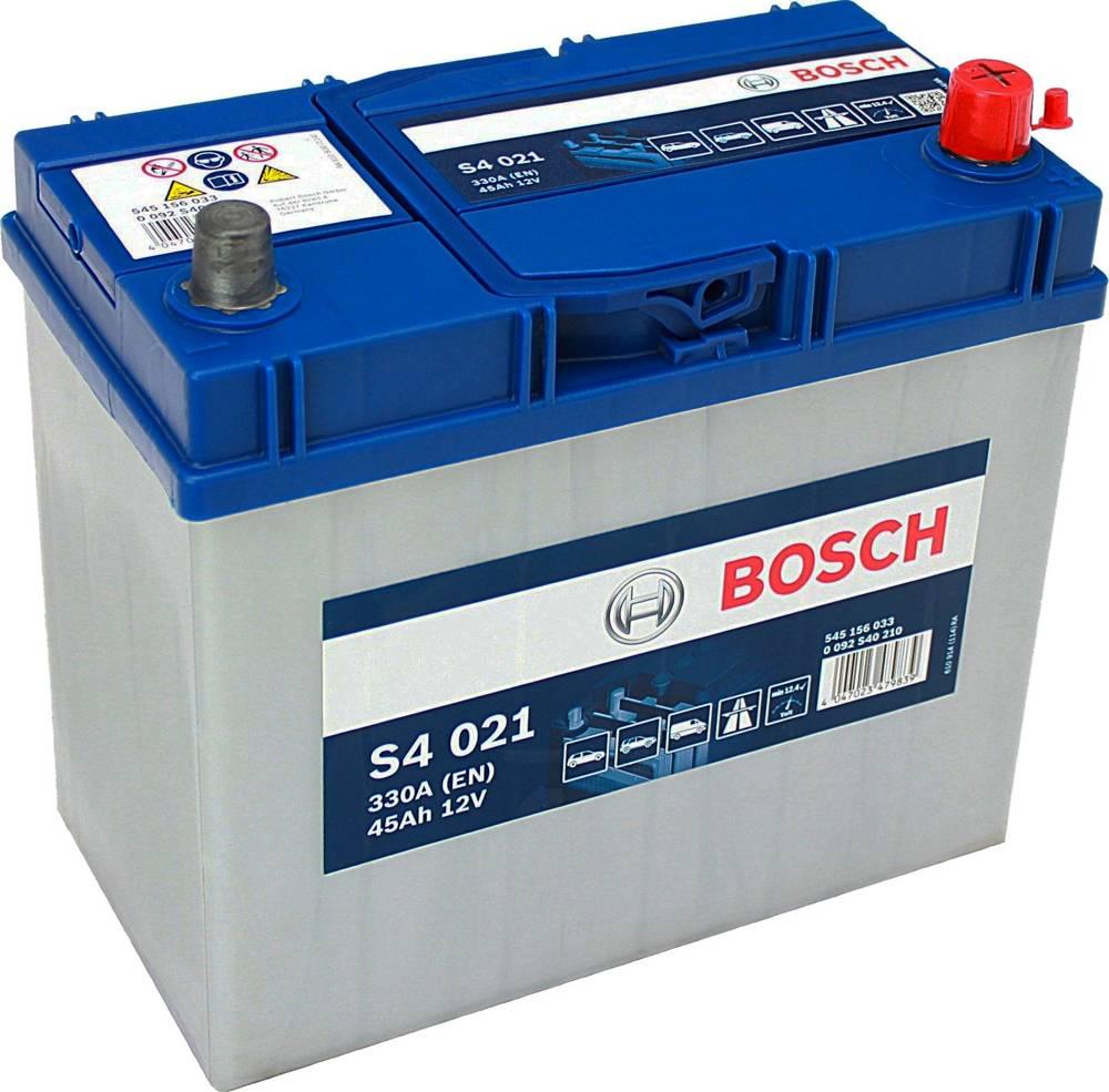 s4 021 bosch car battery 12v 45ah type 048 s4021 car batteries bosch car batteries. Black Bedroom Furniture Sets. Home Design Ideas