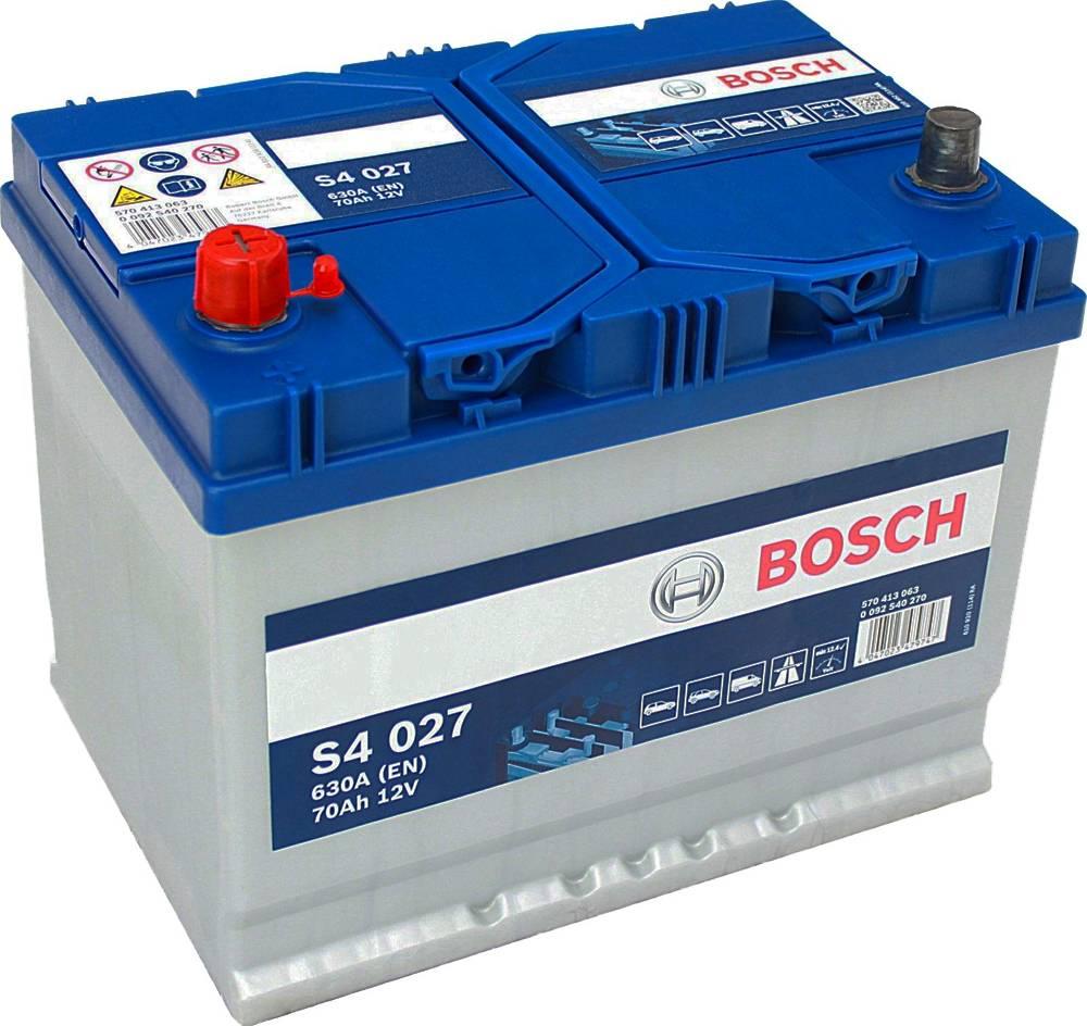s4 027 bosch car battery 12v 70ah type 069 s4027 car batteries bosch car batteries. Black Bedroom Furniture Sets. Home Design Ideas