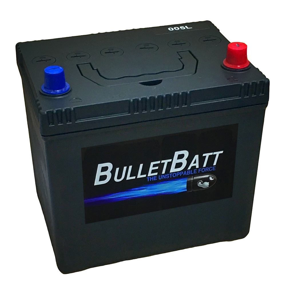 005l bulletbatt car battery 12v 60ah car batteries bulletbatt car batteries. Black Bedroom Furniture Sets. Home Design Ideas