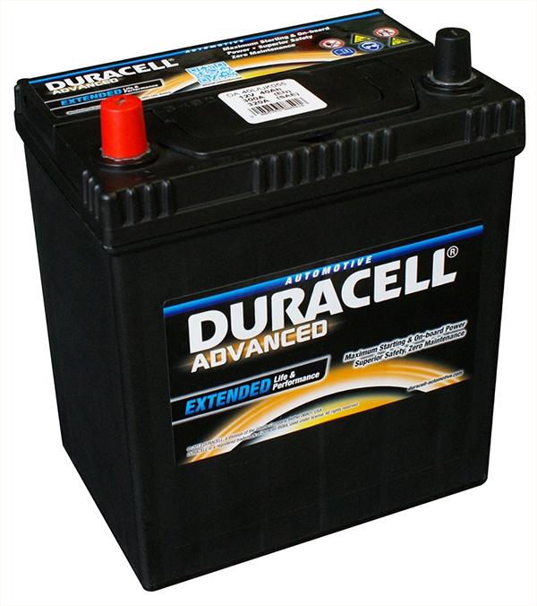 da40l duracell advanced car battery 12v 40ah 055 da 40l car batteries duracell car batteries. Black Bedroom Furniture Sets. Home Design Ideas