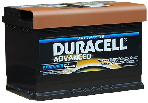 da74 duracell advanced car battery 12v 74ah 096 da 74. Black Bedroom Furniture Sets. Home Design Ideas