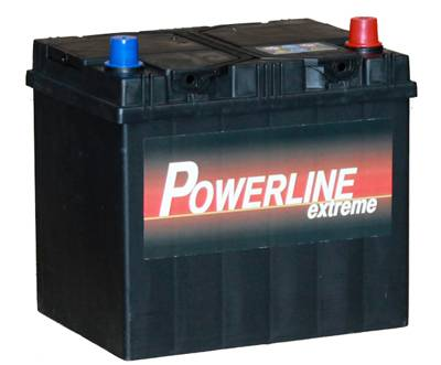 005l powerline car battery 12v 60ah car batteries powerline car batteries. Black Bedroom Furniture Sets. Home Design Ideas