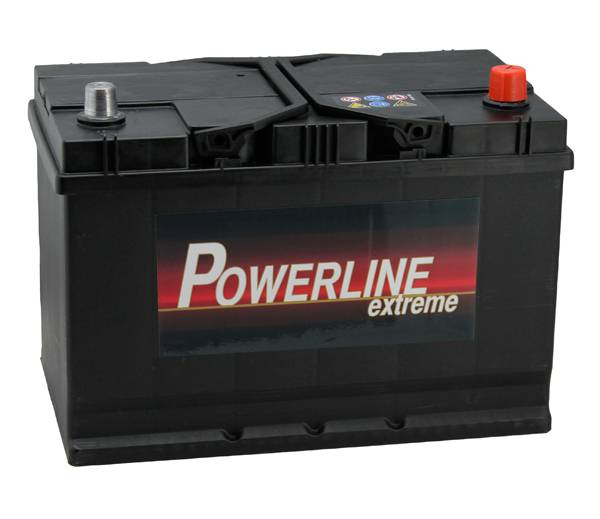 335 powerline car battery 12v 95ah car batteries powerline car batteries. Black Bedroom Furniture Sets. Home Design Ideas