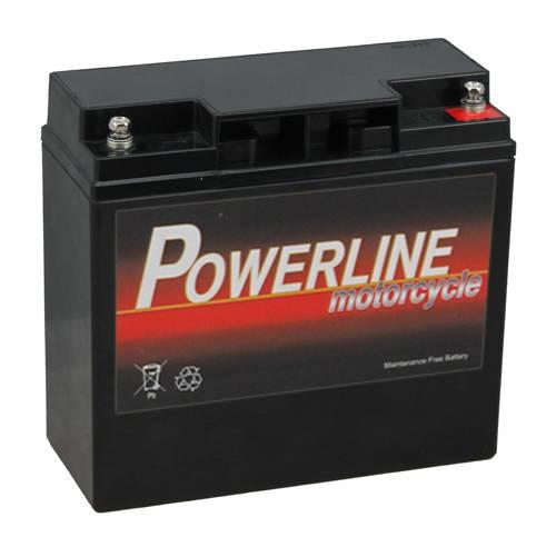 51913 Bmw Powerline Motorcycle Battery 12v 19ah 12v20p