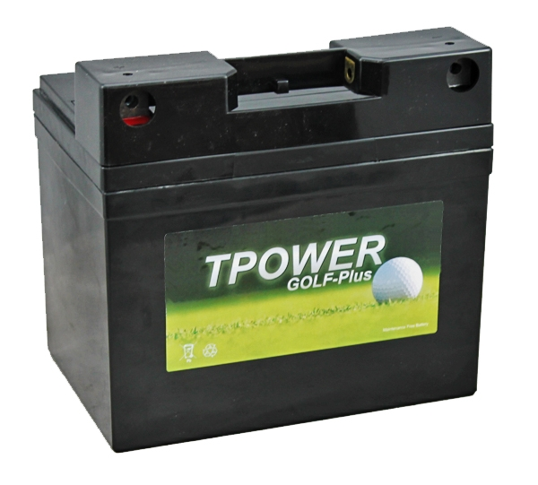 tp34 12 tpower golf trolley battery with t bar adaptor. Black Bedroom Furniture Sets. Home Design Ideas
