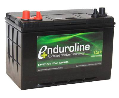 exv105 enduroline calcium leisure battery 105ah leisure batteries enduroline ca leisure. Black Bedroom Furniture Sets. Home Design Ideas