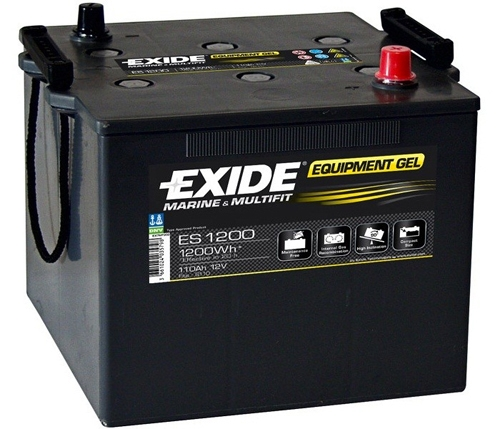 es1200 exide g110 marine and multifit gel leisure battery. Black Bedroom Furniture Sets. Home Design Ideas