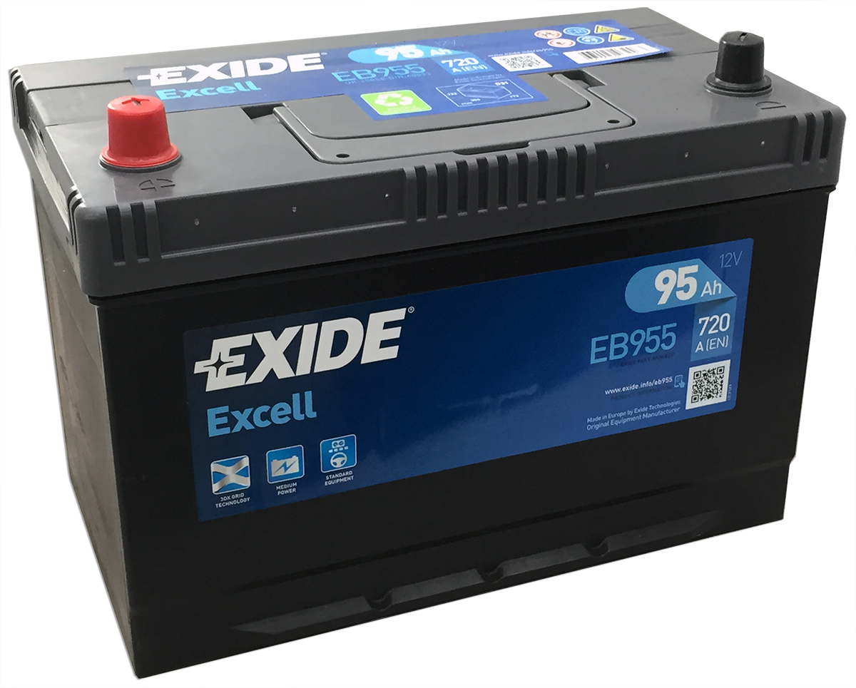Eb955 Exide Excell Car Battery 250se Car Batteries