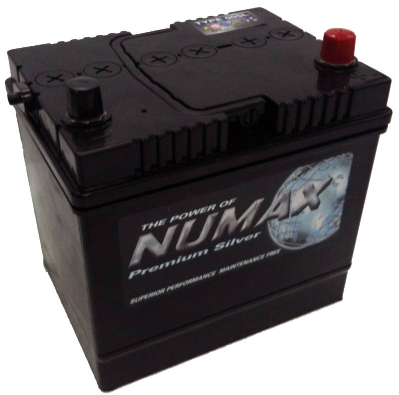 55d23l numax car battery 12v 60ah. Black Bedroom Furniture Sets. Home Design Ideas