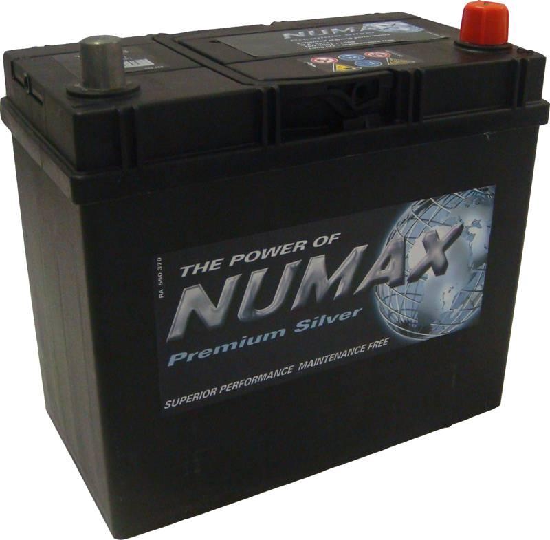 048 numax car battery 12v 45ah car batteries numax car. Black Bedroom Furniture Sets. Home Design Ideas