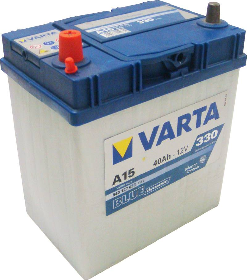 a15 varta blue dynamic car battery 12v 40ah 540127033. Black Bedroom Furniture Sets. Home Design Ideas